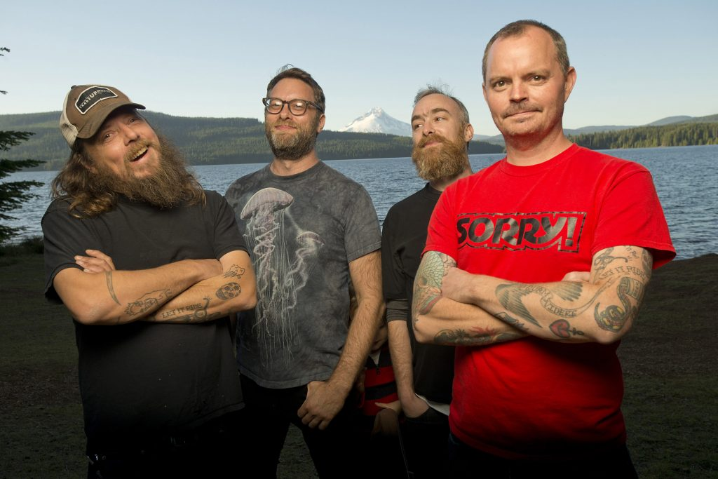 """Red Fang """"Only Ghosts"""" press photos 2016"""